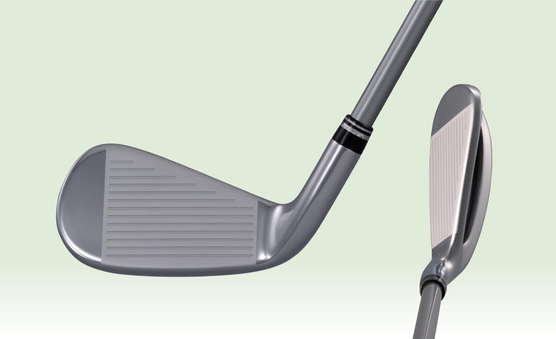 1. アマチュアゴルファーの打点位置がスウィートスポット!
