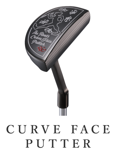 curve face putter